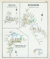 Decatur, Roseboom, South Valley, Otsego County 1903